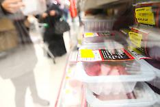 FEB 15 2013 Meat at Asda supermarket