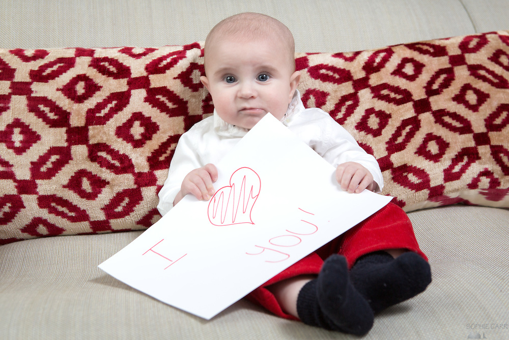Baby Henry at 6 months' old