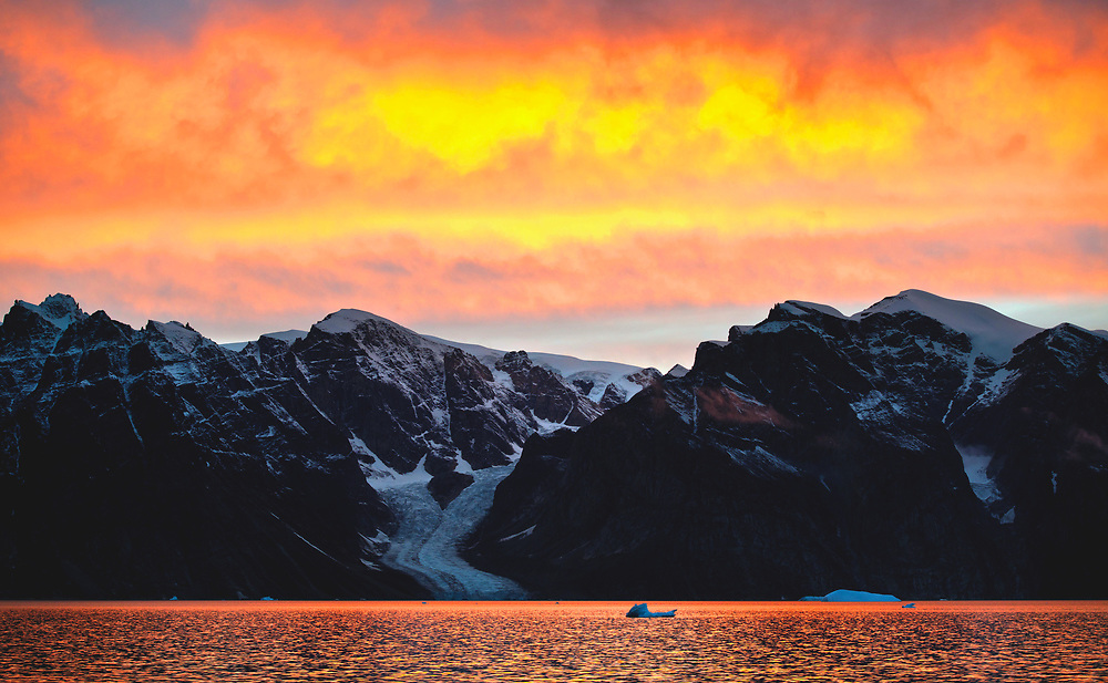 Eskimo Bukta @ Scoresby Sund, Greenland