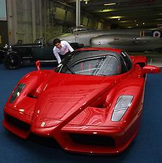 APR 28 2013 Bonham car auction at the RAF Museum in Hendon