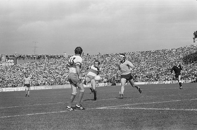 All-Ireland Senior Football Semi-Final, Dublin v Derry at Croke Park..24.08.1975