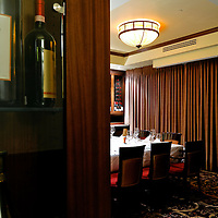 Canada, Edmonton. Apr/06/2013. Ruth's Chris Steakhouse Edmonton. Private Dining: North Room.