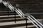 SD00024-00...SOUTH DAKOTA - Steps and railing at Mount Rushmore National Memorial.