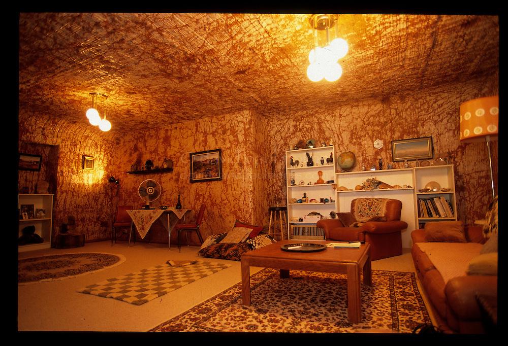 Underground Homes Inside an Underground Home