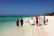 The beach at Guadalavaca, Holguin, Cuba.