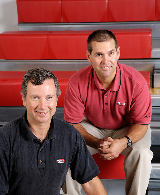 Tim Hussey (CEO) and cousin Tom<br /> Family Business Magaine