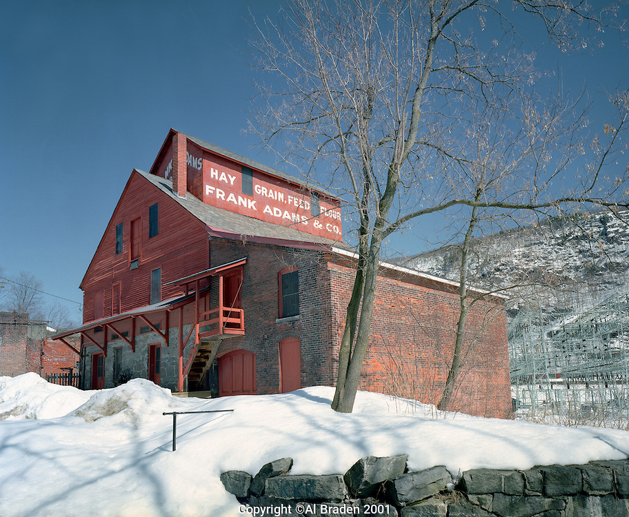Frank Adams Mill, built in 1830, Bellows Falls, VT is now a museum.