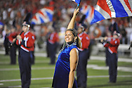 Ole Miss band member vs. Texas at Vaught-Hemingway Stadium in Oxford, Miss. on Saturday, September 15, 2012. Texas won 66-21. Ole Miss falls to 2-1.