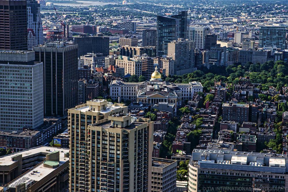 Massachusetts State House & Downtown Boston