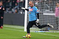 29.10.2016 - Torino - Serie A 2016/17 - 11a giornata  -  Juventus-Napoli  nella  foto: Jose Manuel Reina  - Napoli