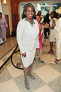 April 7, 2012 New York, NY: Gerri Warren Merrick, president, Greater New York Chapter, Links, Inc attends the 62nd Annual Women of Distinction Spirit Awards Luncheon & Fashion Show sponsored by The Links, Inc- Greater New York Chapter held at Pier Sixty at Chelsea Piers on April 7, 2012 in New York City...Established in 1946, The Links,  incorporated, is one of the nation's oldest and largest volunteer service of women, linked in friendship, are committed to enriching, sustaining and ensuring the culture and economic survival of African-American and persons of African descent . The Links Incorporated is a not-for-profit organization, which consists of nearly 12, 000 professional women of color in 272 located in 42 states, the District of Columbia and the Bahamas. (Photo by Terrence Jennings)