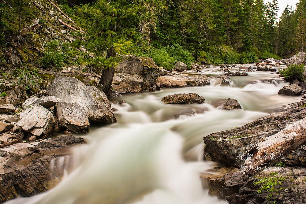Cle Elum River, Okanogan-Wenatchee National Forest, Washington, USA