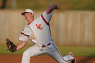 Lafayette High's Blake Witt pitches vs. Byhalia at W.W. Brewer Field at LHS in Oxford, Miss on Thursday, April 22, 2010.