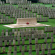 FLATIRON COPSE  CEMETERY, SOMME, FRANCE. 11/02.FIRST WORLD WAR CEMETERY.COMMONWEALTH WAR GRAVES COMMISSION.COPYRIGHT OWNED PHOTOGRAPH BY BRIAN HARRIS.0044 (0) 7808-579804.NO UNAUTHORISED USE WITHOUT PERMISSION.