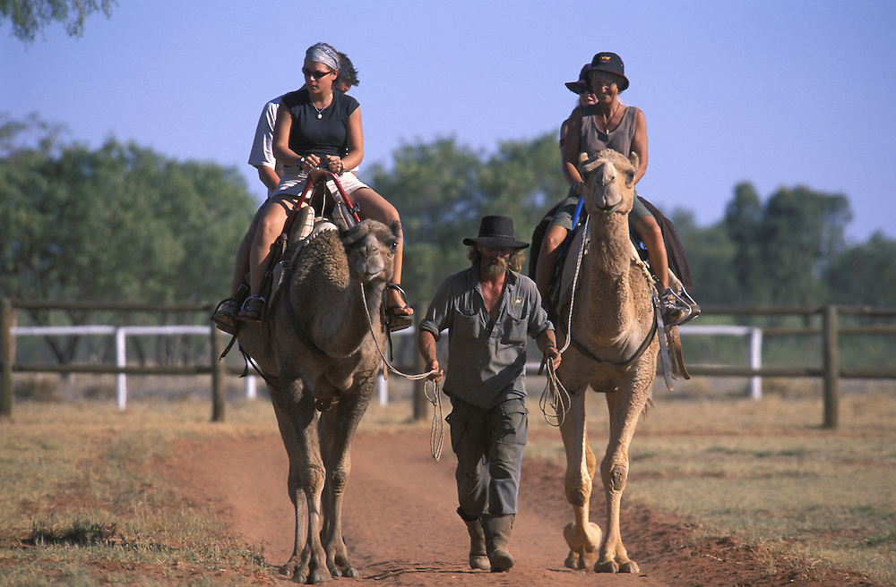 Camel Outback Safaris.Stuarts Well.south of Alice Springs.Stuart Highway.Northern Territory.Australia
