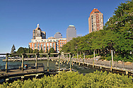 Hudson River Park, South Cove,  Manhattan, New York City, New York, USA, On the Esplanade, between First Place and Third Place