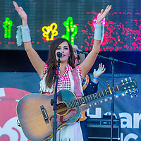 LAS VEGAS - SEP 20: Singer Kasey Musgraves performs on stage at the 2014 iHeartRadio Music Festival Village on September 20, 2014 in Las Vegas.