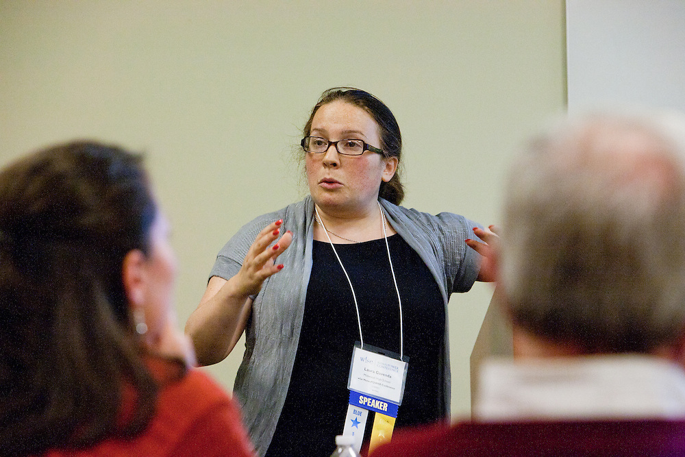 The 9th MoneyPOWER Conference for Financial Literacy brings together educators, leaders and experts in the field of personal finance education. Laura Gavenda, Educator, Midwood High School in New York City was one such expert. The conference helps to further the shared mission to educate young people so that they can graduate high school with the knowledge and skills they need to be financially capable adults. More than 40,000 students in 27 states took the tests; 74.2% of students passed the Certification Test, earning our widely recognized CFL™ (Certified Financially Literate). ..The Conference featured workshops, educator led sessions, introductions to publications and resources at the Resources Fair, opportunities to consult with Certified Financial Planners and a chance to network with other participants. The keynote speaker was Karen Finerman, the well known Chair of CNBC's Fast Money and Co-Founder and Chief Executive Officer of Metropolitan Capital Advisors. The McGraw-Hill Companies hosted the conference on November 8, 2011 in New York.