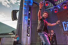 Gabriel Coronel performs at 2014 Descarga at Los Angeles Universal CityWalk.