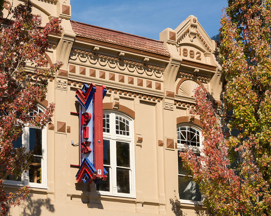 The Pix Theatre building in the downtown Historic District of Albany, Oregon.