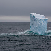 February 7th 2007. Southern Ocean. An iceberg drifts in the Ross Sea.