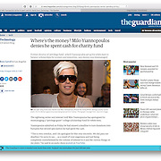 Milo Yiannopoulos - The Guardian