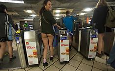 JAN 13 2013 No Pants Day on London Underground