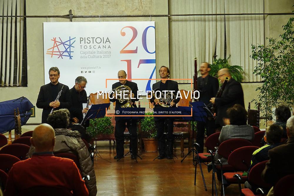 Pconcerto di fiati per Pistoia Capitale della Cultura italiana 2017