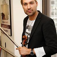 David Garrett visits the studios of SiriusXM Satellite Radio in New York on June 6, 2012..Photo Credit ; Rahav Iggy Segev / Photopass.com