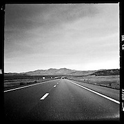 Interstate 80 in Nevada.