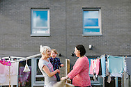Commercial photography of housing stock and environmental portraiture for Fairfield Housing Co-operative, Perth, Scotland