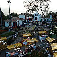 Mi Pueblito Paisa, a recreation of a typical Hacienda from the Antioquia Region in Colombia, including food stands and art and craft shops