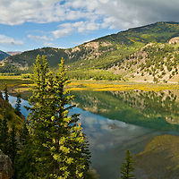 A late summer drive along the Alpine Loop leads to Lake City, Colorado; named for Lake San Cristobal.