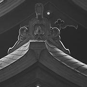Tokyo, Japan, Shrine, B&W