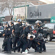OPD beatdown of an unarmed Black youth who was doing nothing more than trash talking the OPD