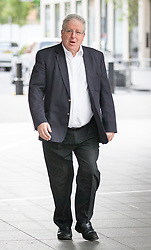 © Licensed to London News Pictures. 23/04/2017. London, UK. Conservative Party Chairman Patrick McLoughlin arriving at BBC Broadcasting House to appear on Pienaar's Politics on BBC Radio 5 live, this morning. Photo credit : Tom Nicholson/LNP