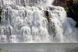 Close-up of King's Cascades in the Prince Regent River.