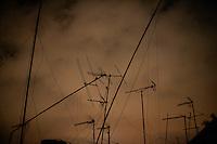 20110907 - Barcelona,  - Urban landscape of El Raval in Barcelona Spain.  Photo by Matthew Healey