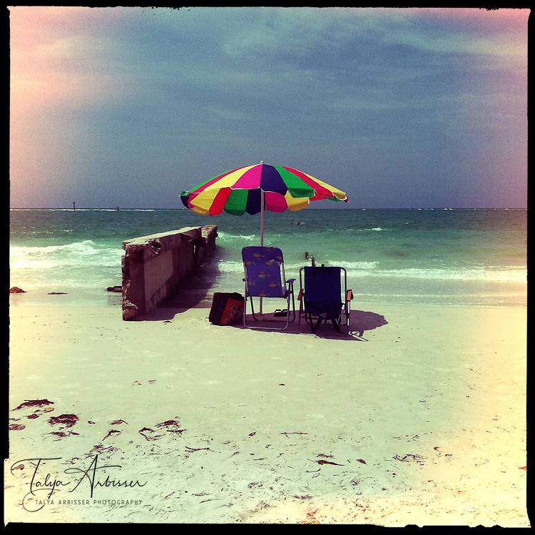 Beach umbrella - Siesta Key, Florida