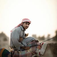 Dubai - United Arabs Emirates - 23 November 2008 ..Robot controled camel race in Dubai...Photo: EZEQUIEL SCAGNETTI..