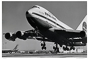 Pan Am 747 Takeoff
