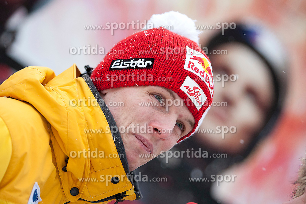 13.01.2012, Kulm, Bad Mitterndorf, AUT, FIS Ski Flug Weltcup, Probesprung, im Bild Thomas Morgenstern (AUT) // Thomas Morgenstern from Austria during the qualification of FIS Ski Flying World Cup at the 'Kulm', Bad Mitterndorf, Austria on 2012/01/13, EXPA Pictures © 2012, PhotoCredit: EXPA/ Erwin Scheriau