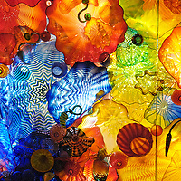 Chihuly Exhibition Montreal