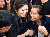 Former Thai Prime Minister Distributes Rice
