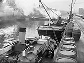 1958 - Images of Guinness transport methods in Dublin
