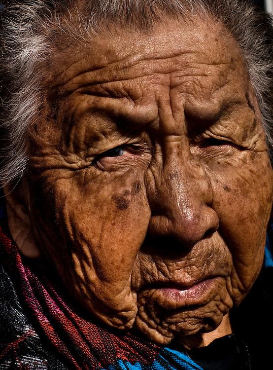 The Pine Ridge Indian Reservation in South Dakota