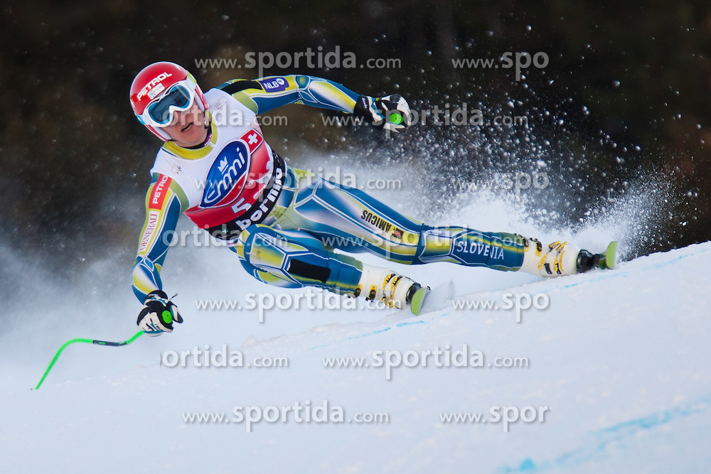 28.12.2011, Pista Stelvio, Bormio, AUT, FIS Weltcup Ski Alpin, Herren, Abfahrt, 2. Training, im Bild Andrej Sporn (SLO) // Andrej Sporn of Slovenia in Action during second practice session downhill of FIS Ski Alpine World Cup at 'Pista Stelvio' in Bormio, Italy on 2011/12/28. EXPA Pictures © 2011, PhotoCredit: EXPA/ Johann Groder