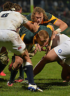 GEORGE, SOUTH AFRICA - JUNE 17: Jean-Luc du Preez of South Africa during the match between South Africa 'A' and England Saxons at Outeniqua Park on June 17 2016 in George, South Africa. (Photo by Roger Sedres/Gallo Images)