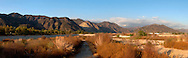 San Gabriel Mountains Scenic Panoramic, Southern California