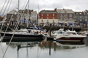 Bustling Padstow in north Cornwall, famous for chef Rick Padstein
